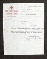 Croce Rossa Italiana - Infermiera Volontaria - Servizio Ad Addis Abeba - 1937 - Vecchi Documenti