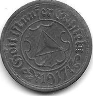 Notgeld Frankenthal 10 Pfennig 1917 Zn 4157.4 / F 135.5 - Autres