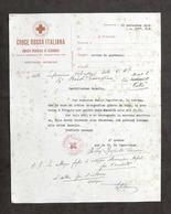 Croce Rossa Italiana - Infermiera Volontaria - Avviso Di Partenza - 1936 - Vecchi Documenti