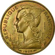 Monnaie, Réunion, 20 Francs, 1955, ESSAI, FDC, Aluminum-Bronze, KM:E7 - Réunion