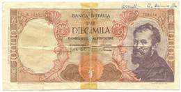 10000 LIRE FALSO D'EPOCA MICHELANGELO MEDUSA 03/07/1962 MB+ - [ 8] Fictifs & Specimens