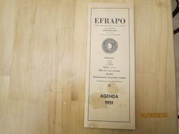 Efrapo à Strasbourg Agenda 1951          ---------------------------------------19 Meni - Calendriers
