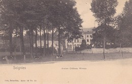 619 Soignies Ancien Chateau Wincqz - Soignies