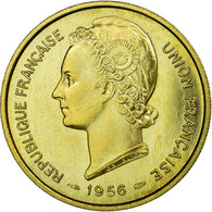 Monnaie, Togo, 25 Francs, 1956, Paris, ESSAI, FDC, Bronze-Aluminium, KM:E8 - Togo