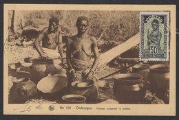 HAUTE VOLTA : Véritable Carte Maximum De Haute Volta Oblt OUAGADOUGOU - Haute-Volta (1920-1932)