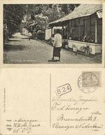 Indonesia, MOLUCCAS MALUKU TERNATE, Bovenweg Street Scene (1926) Postcard - Indonesië