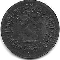 Notgeld FRANKFURT A/O 10 PFENNIG 1917 ZN 4172.2 - Otros