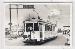 Tram Midi - Espinette - Waterloo. Photo, Geen Postkaart. - Waterloo