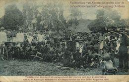 Indonesia, MOLUCCAS MALUKU AMBON, Princess's Day, Alfur Games (1908) Postcard - Indonesië