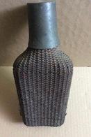 Gourde, Verre + Paille (tout Début Du Siècle Dernier, 20x9, 500 Grammes-manque Le Bouchon) - Otras Botellas