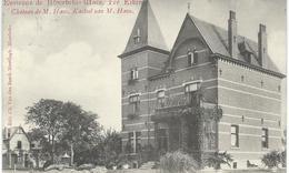 Environs De MOERBEKE-WAES - TER EIKEN : Chateau De M. Haus - Kasteel Van M. Haus - Cachet De La Poste 1907 - Moerbeke-Waas
