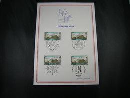 """BELG.1968 1479 FDC Filatelia Card  : """" Zeekanaal Van Gent / Canal Maritime De Gand """" - 1961-70"""