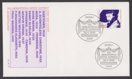 Germany-BRD FDC 1990 - MiNr. 1483 - Käthe Dorsch (G) - [7] République Fédérale
