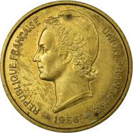 Monnaie, Togo, 25 Francs, 1956, Paris, ESSAI, SUP, Bronze-Aluminium, KM:E8 - Togo