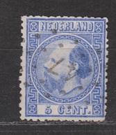 NVPH Nederland Netherlands Niederlande Pays Bas Holanda 7 CANCEL HAARLEMMERMEER 47 ; Koning Roy Rey King Willem III 1867 - Periode 1852-1890 (Willem III)