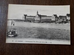 L22/80 Le Croisic - Etablissement Pen-Bron Pris De La Mer - Le Croisic