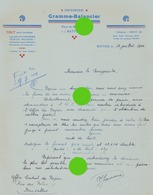 Battice ( Herve )  1944 Imprimerie GRAMME BALANCIER - Imprenta & Papelería