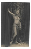 L Roosen  Genre Mata Hari  Carte Photo - Artistes
