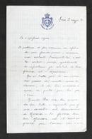 Lettera Manoscritta E Autografo Del Deputato Rinaldo Tornielli - 1896 - Autografi