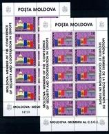 Moldawien Kleinbögen MiNr. 41-42 Postfrisch MNH (GF11034 - Moldawien (Moldau)