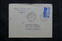 ESPAGNE - Enveloppe Commerciale ( Musique ) De Villacanas Pour La France En 1959 - L 34262 - 1951-60 Cartas