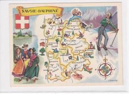 73 SAVOIE DAUPHINE  Carte Lion Noir - France