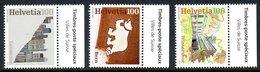 Suisse Helvetia 2237/39 Villes, Ours, Art - Zonder Classificatie