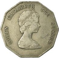 Monnaie, Etats Des Caraibes Orientales, Elizabeth II, Dollar, 1989, TTB - Britse-karibisher Territorien