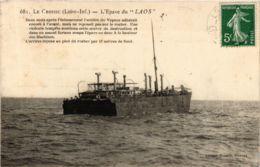 CPA LE CROISIC L'Epave Du LAOS (864340) - Le Croisic