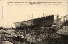 CPA ST-NAZAIRE Chantiers De Penhoet. LA PROVENCE (864373) - Saint Nazaire