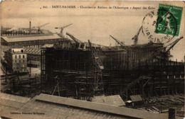 CPA ST-NAZAIRE Chantiers De Penhoet. Aspect Des Cales (864374) - Saint Nazaire