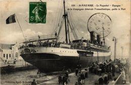 CPA ST-NAZAIRE Le Paquebot ESPAGNE (864377) - Saint Nazaire