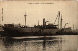 CPA ST-NAZAIRE Cargo En Construction (864379) - Saint Nazaire