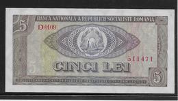 Roumanie - 5 Lei - Pick N°93 - SPL - Roumanie