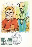 France. Carte Maximum.Jean Zay. Orléans 18/02/1984 - 1980-89