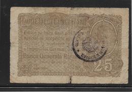 Roumanie - 25 Bani - Pick N°M1 - TB - Roumanie