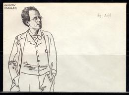 A+ Österreich - Mahler, Gustav 1860-1911 (UNIKAT / ÙNICO / PIÉCE UNIQUE / уникален) - Non Classificati