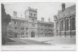 Oxford - Exeter College - Valentine - Oxford