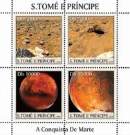 Sao  Tome 2004  Conquest Of Mars ,space - Sao Tome And Principe