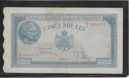 Roumanie - 5000 Lei - Pick N°56 - TB - Roumanie