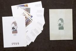 Calendario Storia Della Nave 1966 - Casa Mamma Domenica - Milano - Calendari
