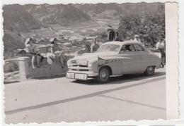 CICLISMO CYCLING TOUR DE FRANCE 1952 - FOTO ORIGINALE AUTO CAR ASSISTENZA - Automobiles