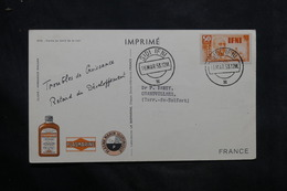 IFNI - Carte Publicitaire ( Biomarine De Dieppe ) De Sidi Ifni Pour La France En 1953 - L 34277 - Ifni