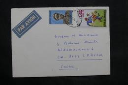 RWANDA - Enveloppe Pour La Suisse , Période 1974 , Affranchissement Plaisant - L 34279 - Autres