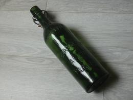 BOUTEILLE BIERE.  BRASSERIE AGON FLOING  ARDENNES. 1LITRE. 32,5cm. - Bière