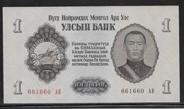 Mongolie - 1 Tugrik - Pick N°28 - NEUF - Mongolie