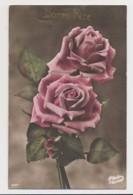AI64 Flowers - Pink Roses - Bonne Fete - Flowers, Plants & Trees