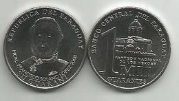 Paraguay 1000 Guaranies 2008. UNC KM#198 - Paraguay