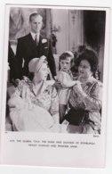 AK97 Royalty - H.M. The Queen, Duke And Duchess Of Edinburgh And Children - Tuck RPPC - Royal Families