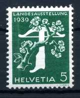 1939 SVIZZERA N.337 MNH ** - Nuovi
